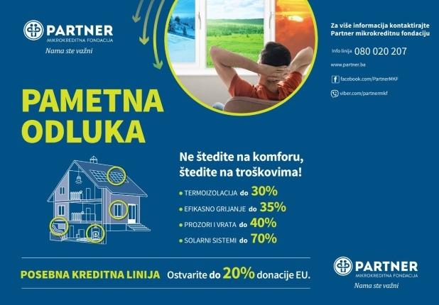 Preko energijske efikasnosti dodonacije od 10% do 20%