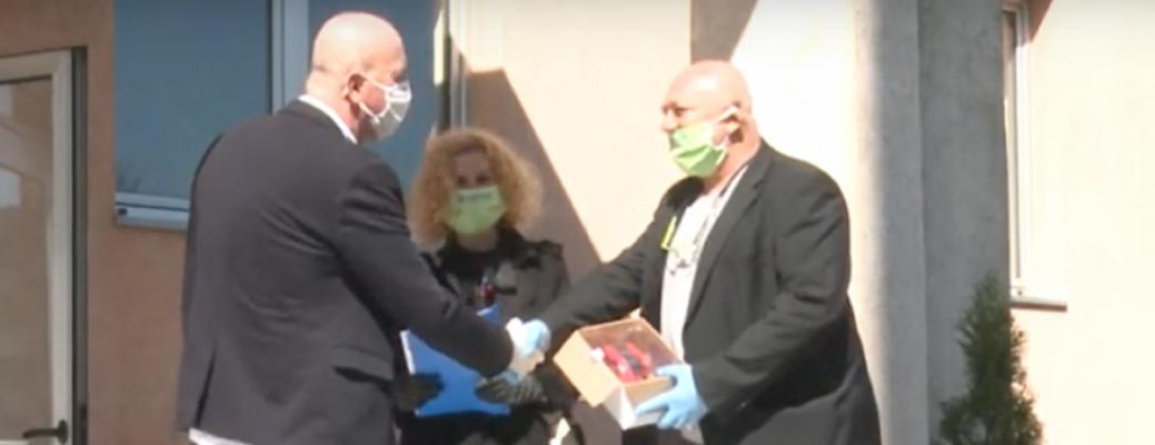 Humanost u vrijeme korone – Partner bolnicama u BiH uručio 15 termalnih kamera