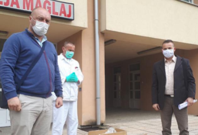 """Partnerova donacija stigla u """"Dom zdravlja"""" Maglaj"""