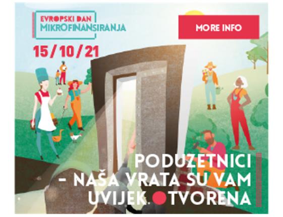 15. oktobar  - Evropski dan mikrofinansiranja